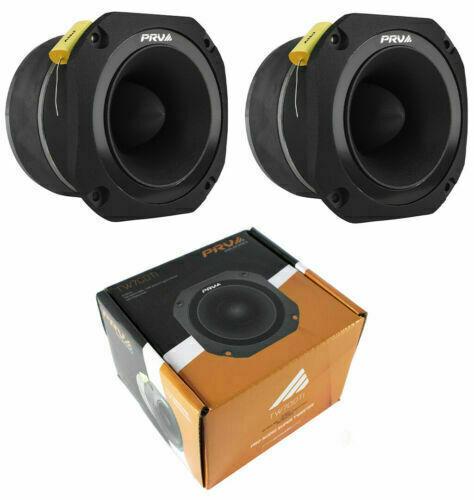 "2x PRV Audio TW700Ti Titanium Bullet 4"" Pro Super Tweeter 8 ohm Car Stereo 960W"