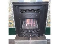 Gas Fire, Decorative Living Flame Coals, Reduced Price