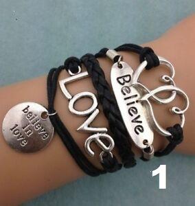 Beautiful Infinity Bracelets
