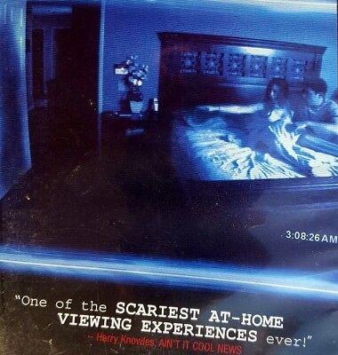 PARANORMAL ACTIVITY ~ DVD SPIRT when you SLEEP the SCARIEST HOME Halloween film (Halloween Spirt)