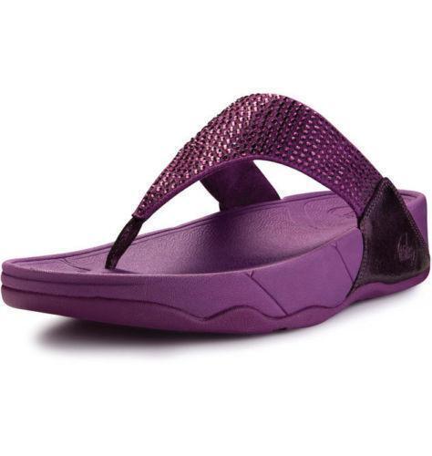 purple fitflop rokkit size 5