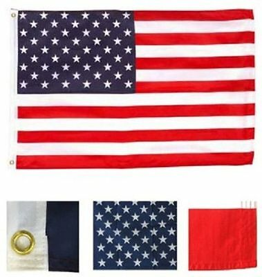 4x6 USA American Flag United States Banner US Polyester Pennant America New 100D
