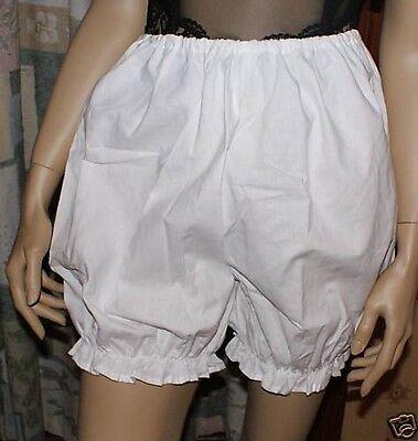 Adult Victorian Edwardian Short bloomers pantaloons, sissy knickers.maid - Kostüm Knickers