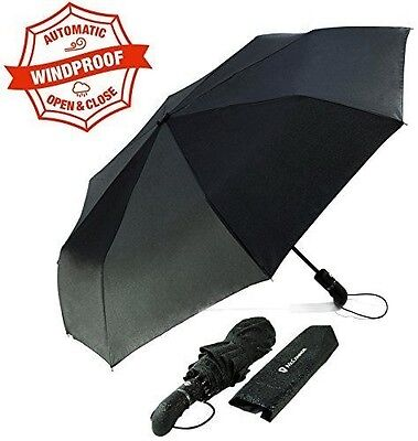McConnor Umbrellas - Automatic Open Close Folding Rain Umbrella - Unbreakable...