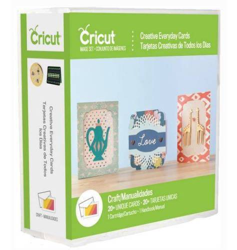 Cricut Cartridge - CREATIVE EVERYDAY CARDS