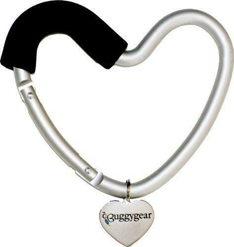 BUGGY HEART HOOK by BUGGYGEAR - The Perfect Way to Carry Your Baby Diaper Bag -