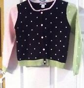 Girls Black Cardigan