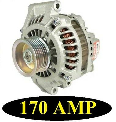 170 HIGH AMP ALTERNATOR HONDA CR V 2002 2004 ACURA RSX 2002 2004 HIGH OUTPUT NEW