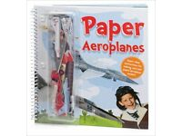 Paper Aeroplanes [Craft Book] - super clear instructions for making card and paper aeroplane models