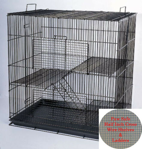 "3 Story 24"" Chinchilla Guinea Pig Hamster Ferret Animal Rat Mice Degu Cage 250"