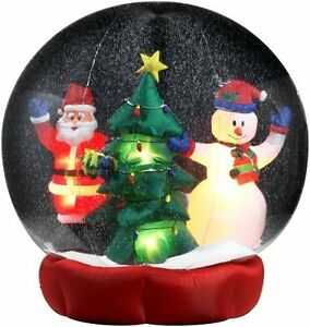 Decoration de Noel 8 pieds/ 8 foot Christmas snow globe