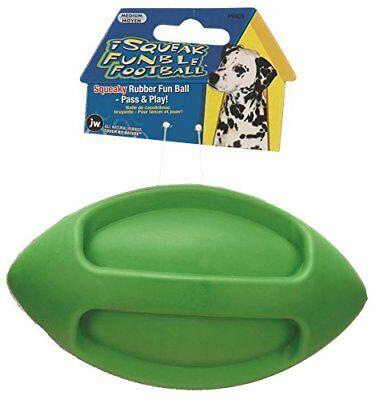 JW Pet Company iSqueak Funble Football Dog Toy, Medium
