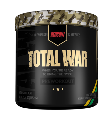 Redcon1 TOTAL WAR Pre Workout Insane Energy New Formula ALL FLAVORS FREE SHIP 1
