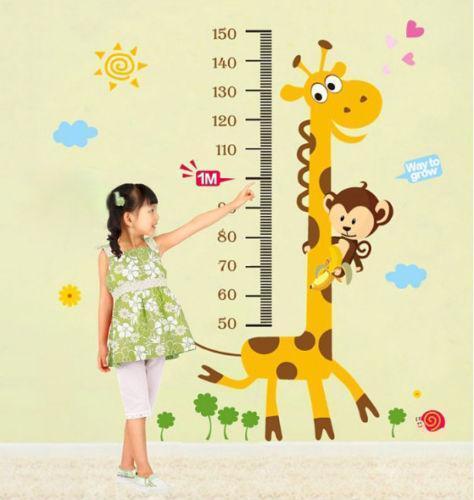 4 Cute Monkeys Wall Decals Sticker Nursery Decor Mural: Monkey Wall Decals
