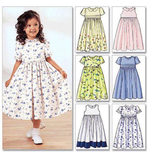 Childrens Dress Patterns | eBay