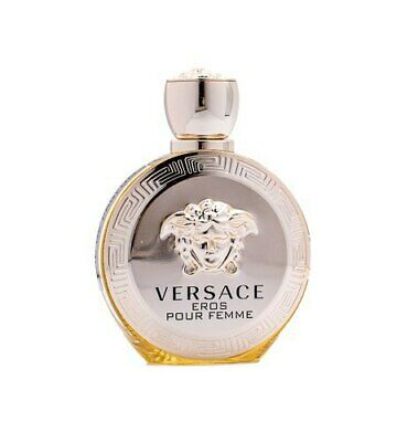 Versace Eros Pour Femme by Versace 3.4 oz EDP Perfume for Women Unboxed New
