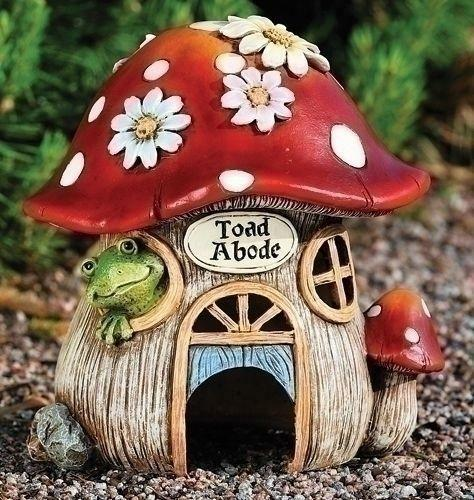Mushroom Garden Decor Set