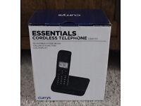 Currys Essentials Cordless Telephone Single 4 Sale