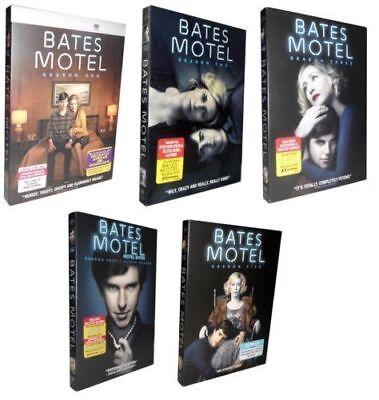 Bates Motel  The Complete Series Seasons 1 5  Dvd