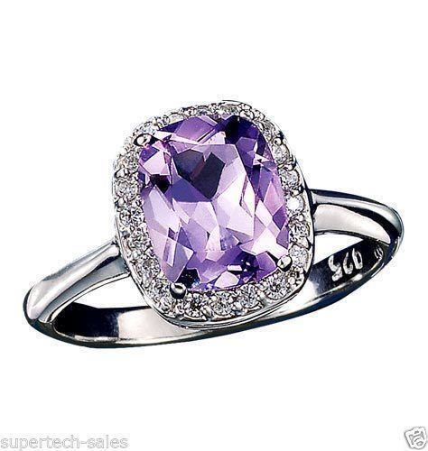 Sterling Silver Ring Avon Topaz Ebay