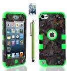 iPod 5th Generation Case Green