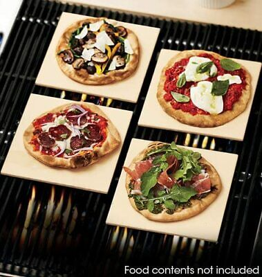 "Avon Set of 4 Small 7.5 x 7.5"" pizza stones Individual Frozen Pastries Treats"