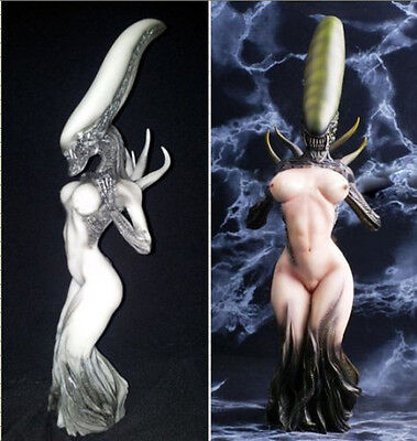 "10 Style 12"" Predator vs Alien Queen Sexy Figure Statue AVP Model Collectibles"