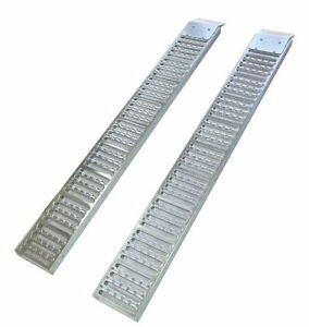 2 PACK STEEL LOADING RAMPS NEW