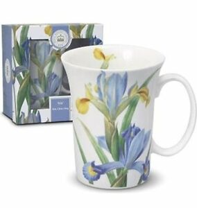 KEW Royal Botanical Gardens IRIS TULIP MUG in Box - Fine Bone China 300ml