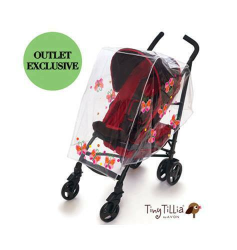 Tiny Tillia Butterfly Stroller Cover