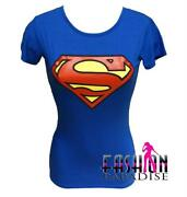 Superman T Shirts Womens
