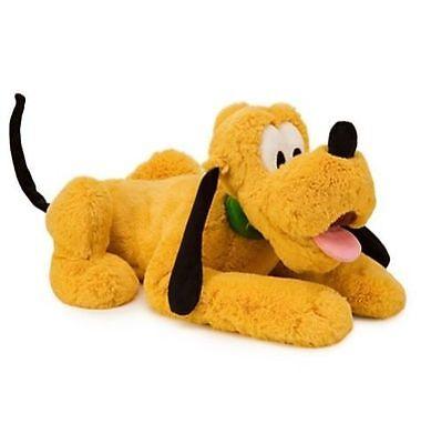 "NWT Disney Store Pluto Dog BIG Stuffed Animal Plush 17"" H Toy Doll Soft Gift"