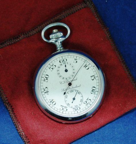 Help Dating A Zentra Pocket Watch
