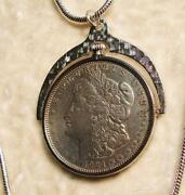 Morgan Silver Dollar Necklace