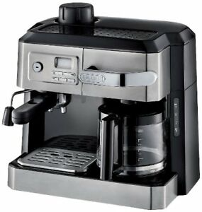 DeLonghi BCO330T New Steam Espresso and 10c Drip Coffee Machine