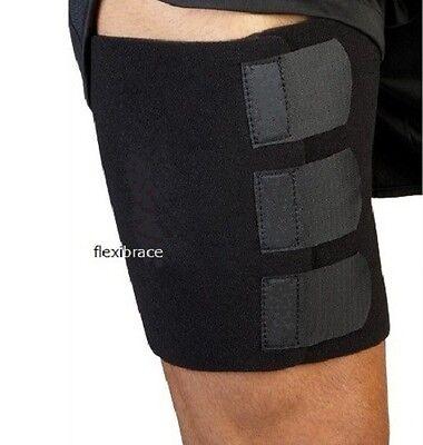 Thigh Groin Compression Wrap Brace Sleeve Elastic Support Universal Flexibrace