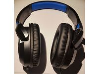 Turtle Beach Ear Force Recon 50P Black/Blue Headband Headsets PS4 XBOX ONE PC GAMING