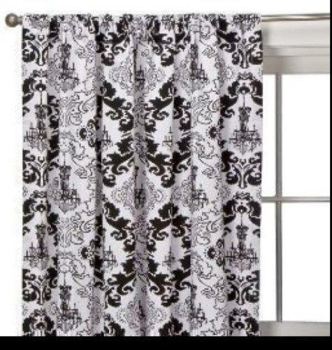 black and white curtains ebay
