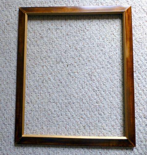 large wood picture frame ebay. Black Bedroom Furniture Sets. Home Design Ideas