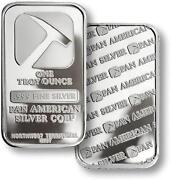 1 oz Pan American Silver Bar