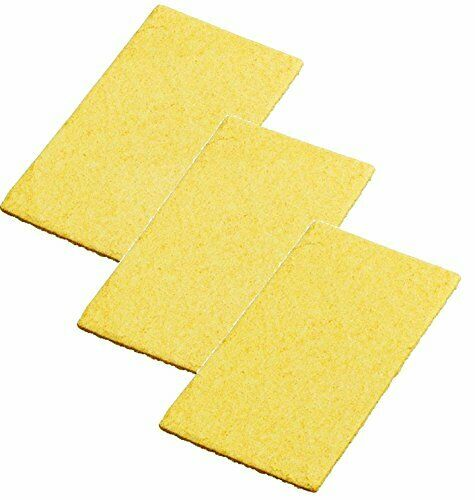 3 Pack Weller WCC104 Replacement Solder Tip Cleaning Sponge for WLC100 or WLC...