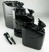 Black Jerry Can