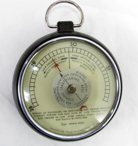 Taylor barometer ebay for Barometer and fishing
