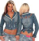 Hippie jeansjacken