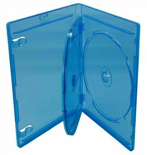 5 10 20 25 50 100 Premium Blu-ray Cases Triple 3 Disc - Holds 3 Discs 12mm BR/T*