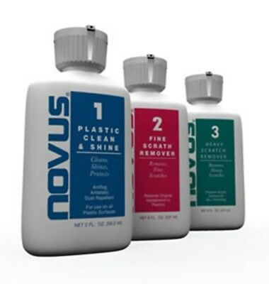 Novus Plastic Polish  - 2 oz - Kit