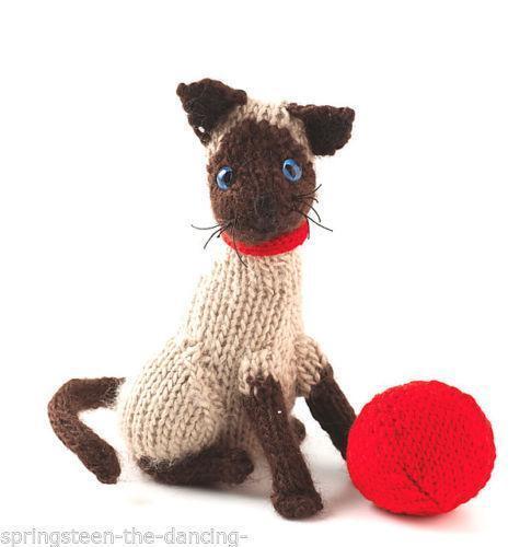 Cat Knitting Pattern Ebay