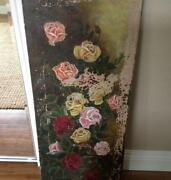 Large Antique Oil Painting