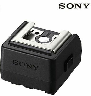 Sony ADP-AMA Auto-Lock Hot Shoe Mount Adapter For Sony SLT-A57 A65 A77