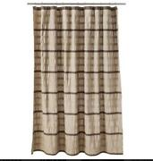 Brown Tan Shower Curtain